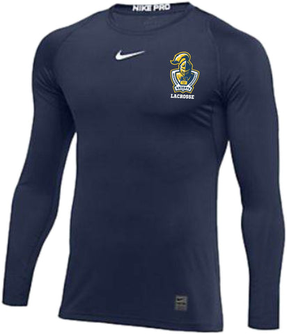 NU18 Knights Pro Fitted LS Top