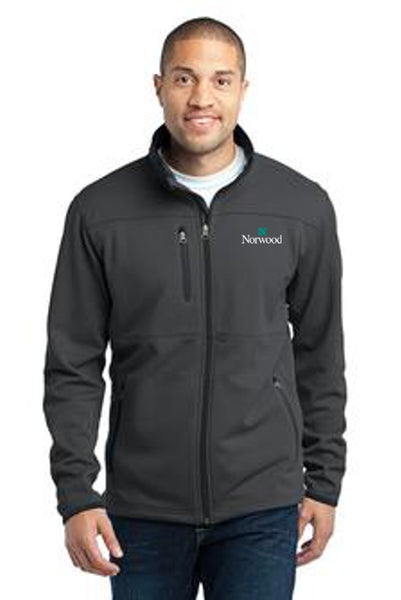 Norwood Pique Fleece Full Zip Jacket - Graphite