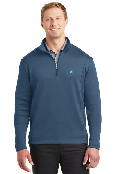 Norwood Nike Quarter Zip- Starlight Blue