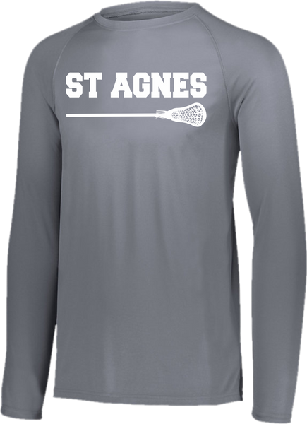 St. Agnes Lacrosse Long Sleeve Raglan Dri-Fit