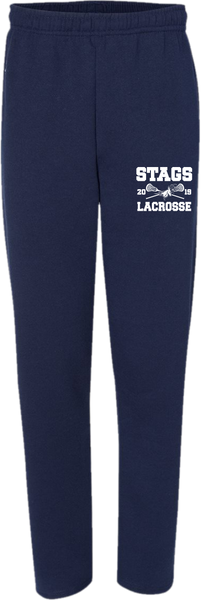 STAGS 2019 Open Bottom Pocketed Sweatpants
