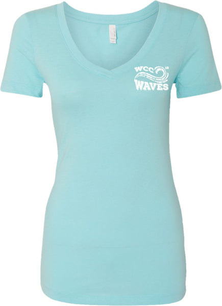 Waves Ladies' V-Neck