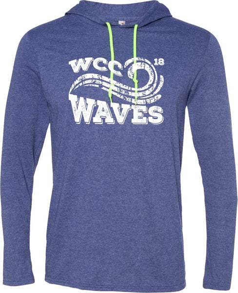 Waves Lightweight Hooded Tee