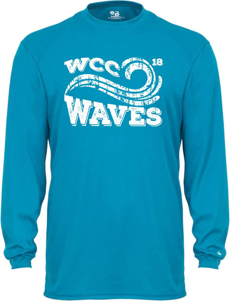 Waves Long Sleeve Dri-Fit