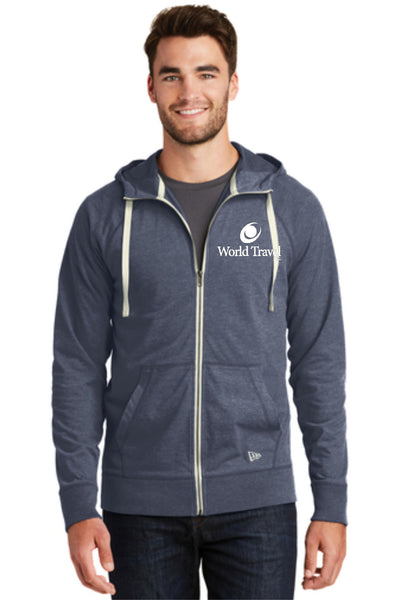 World Travel Cotton Blend Full Zip Hoodie