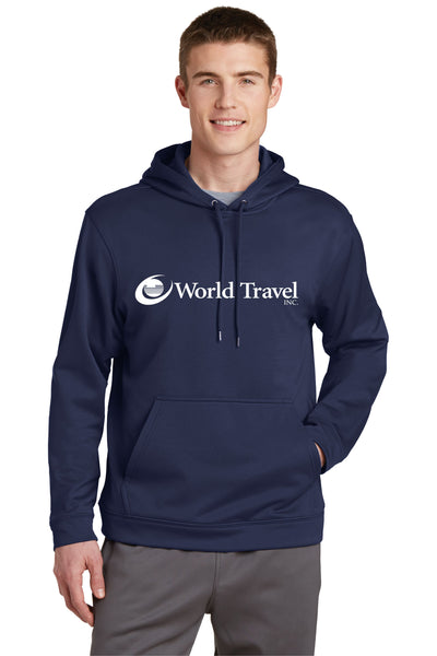 World Travel Performance Fleece Hoodies