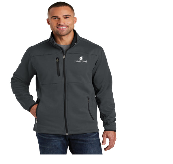 World Travel Pique Fleece Jacket