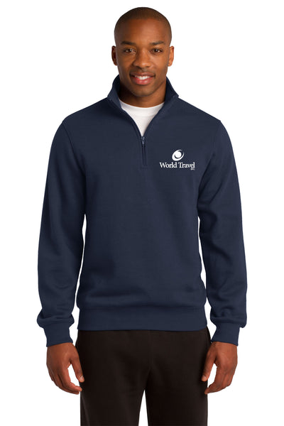 World Travel 1/4 Zip Sweatshirt