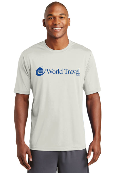 World Travel Men's Performance T-Shirt