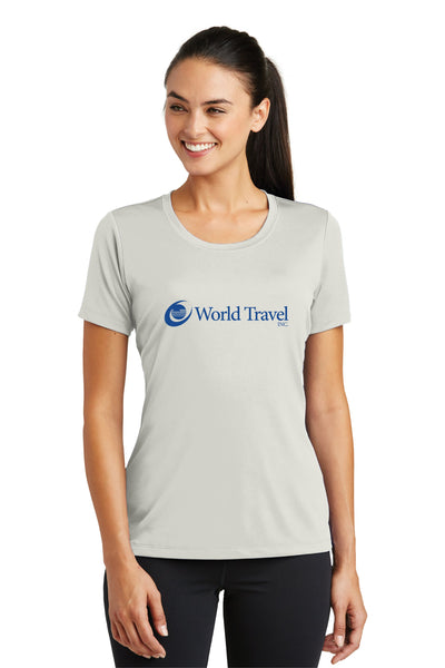 World Travel Ladies Performance T-Shirt
