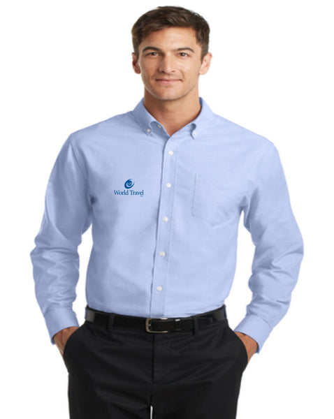 World Travel Oxford Shirt- NEW!