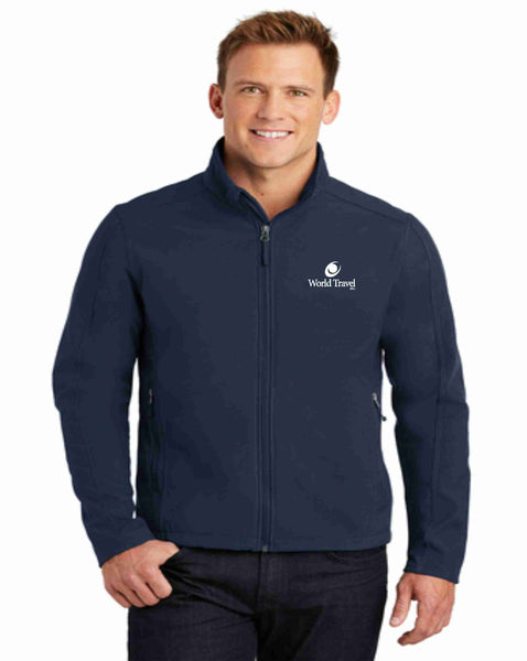 World Travel Soft Shell Jacket with Fleece Lining- NEW!