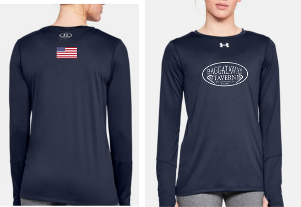 Baggataway Under Armour Long Sleeved Locker T-shirt