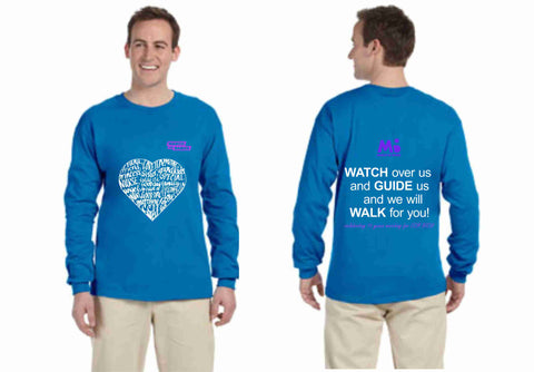March of Dimes Adult Long Sleeved Cotton T-shirt