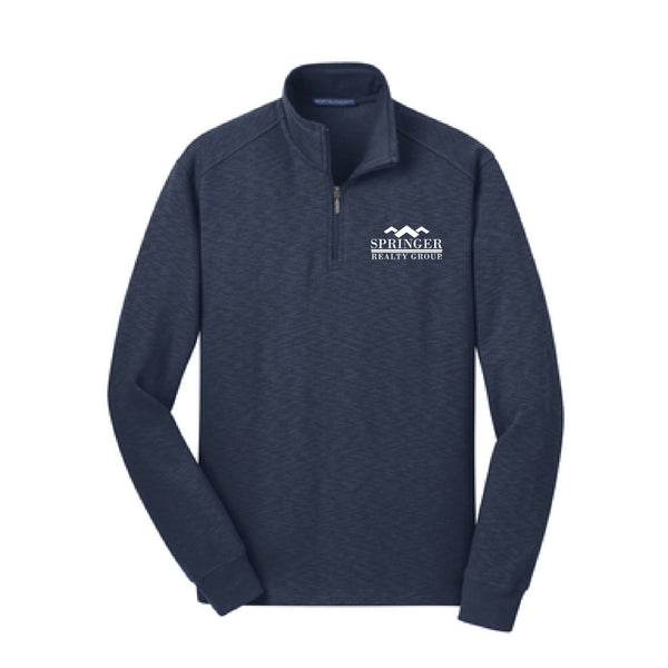 Springer Port Authority Slub Quarter Zip