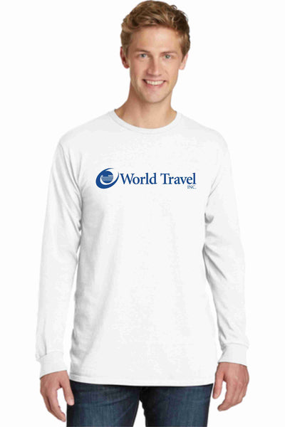 World Travel Garment Dyed Tshirts- NEW!