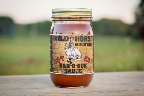 HOT Wild Horse Mountain BBQ Sauce