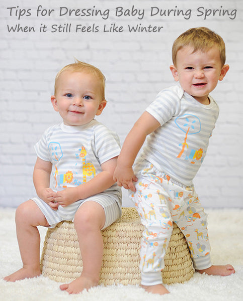 Tips for Dressing Baby Between Seasons