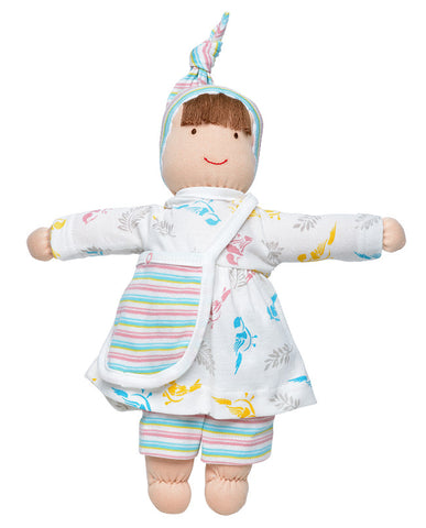 Organic Cotton Stuffed Doll