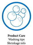 Product Care, Washing Tips and Shrinkage Info