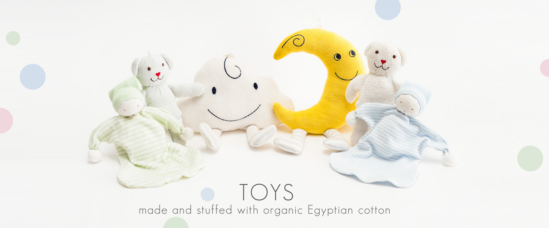 Under the Nile Organic Stuffed Toys