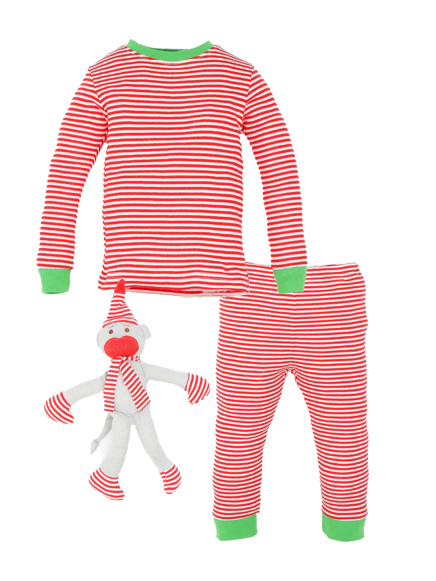 Holiday Long Johns and Monkey Gift Set