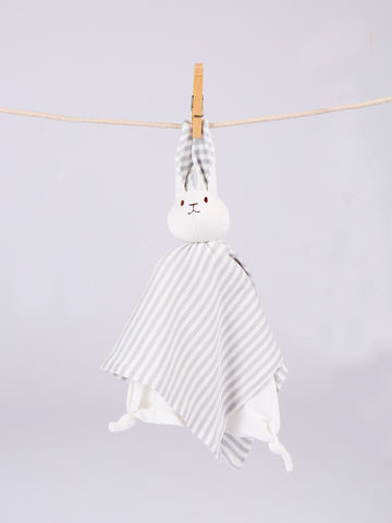 Handkerchief Doll - Grey Stripe