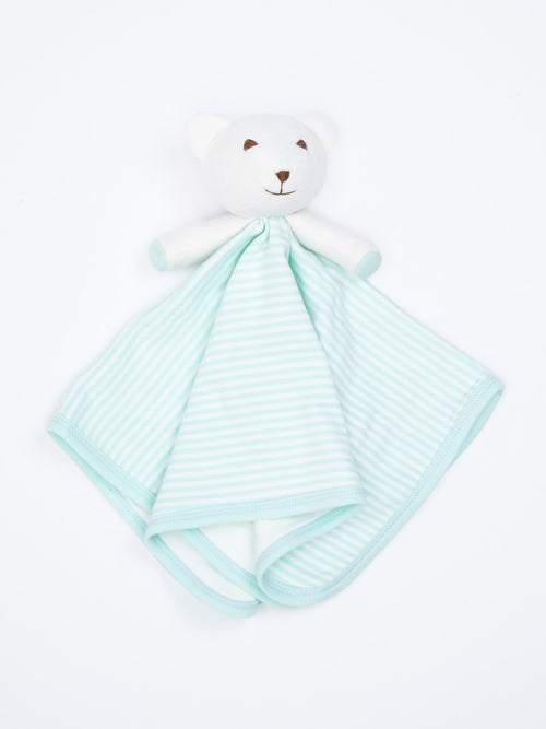 Stripe Bear Blanket Friend