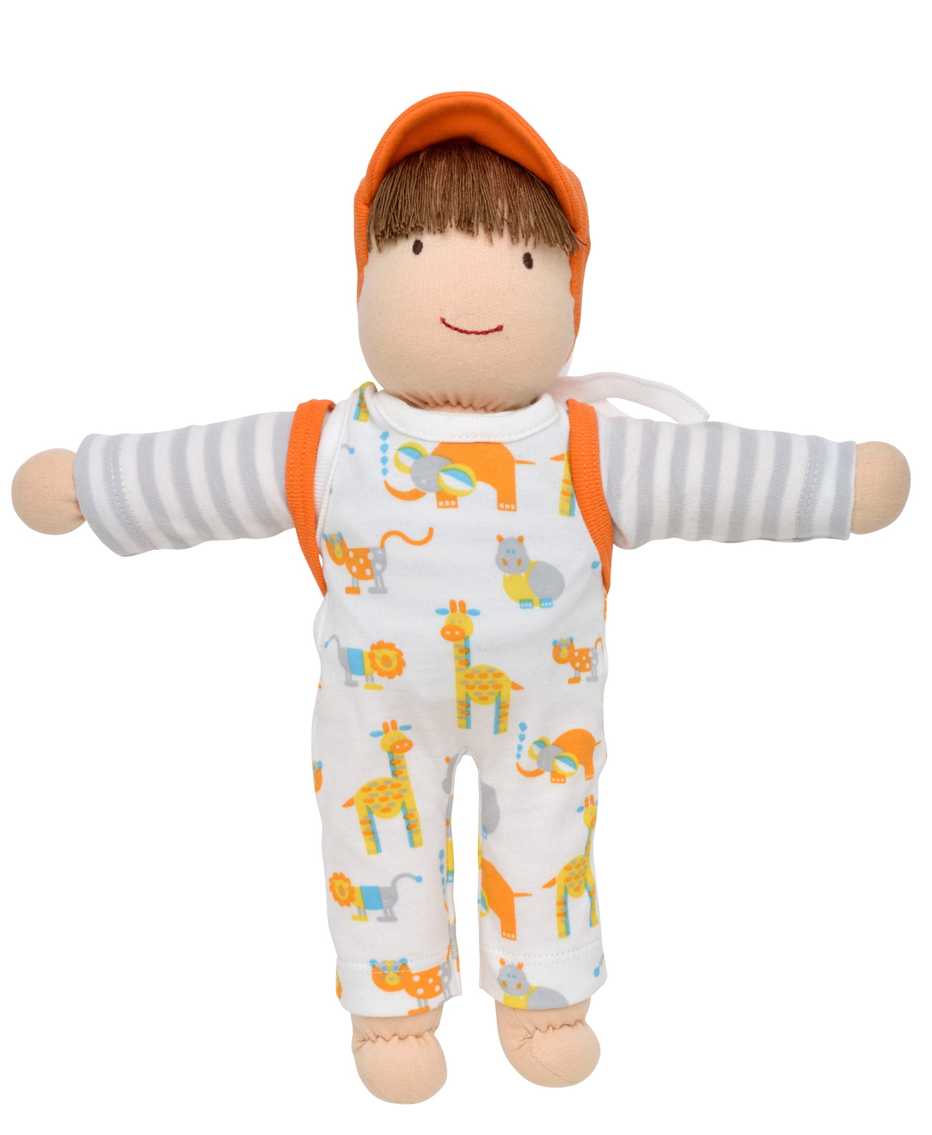 Organic Cotton Boy Dress Up Doll for Toddlers and Kids – Under the Nile