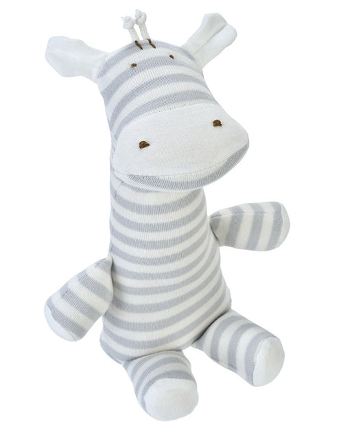 Grey Stripe Giraffe Lovey