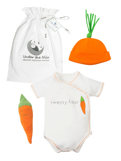 24 Carrot Gift Bag Set