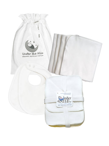 Muslin Gift Bag Set - Off-white