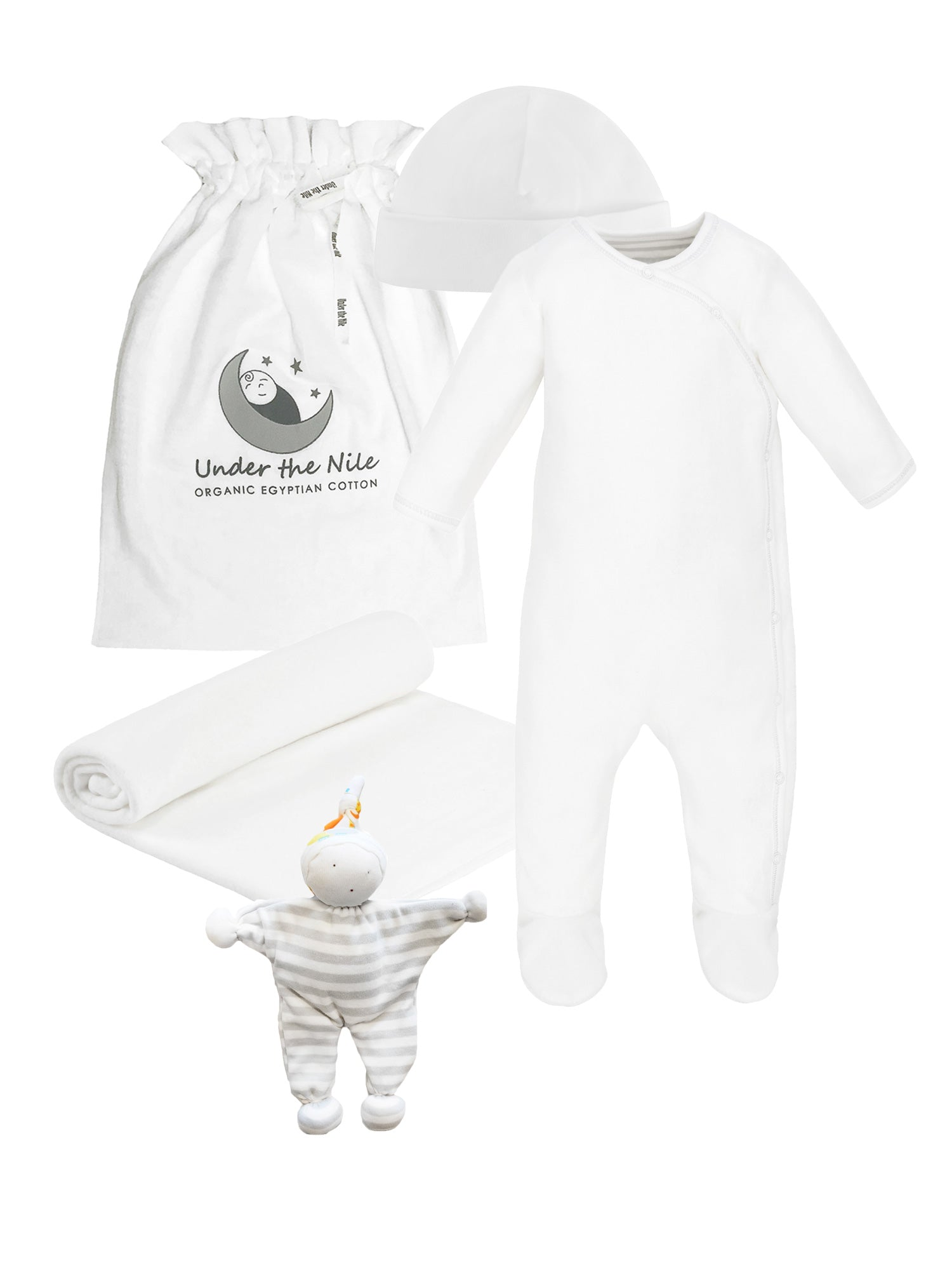 Winter White Sherpa Gift Set