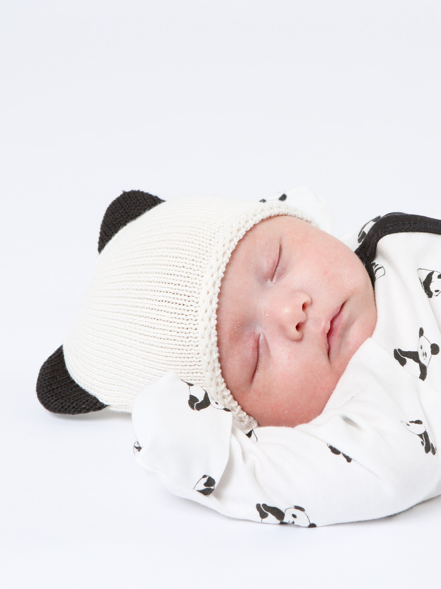 Panda Knitted Hat