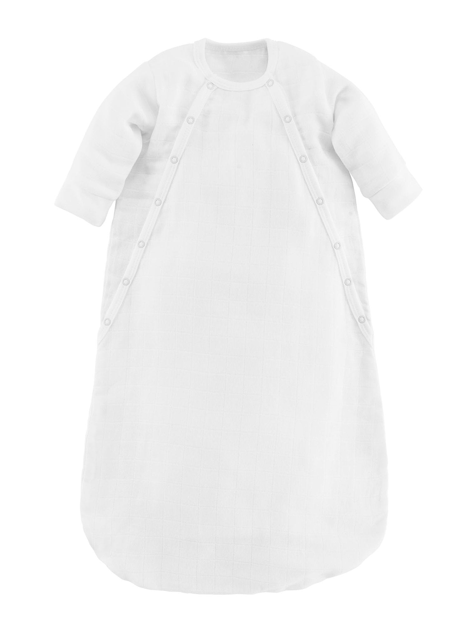 Organic Muslin Baby Bunting Off White Under The Nile