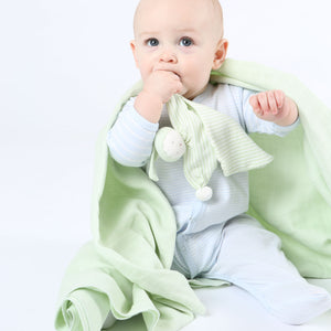Muslin Swaddle Blanket - Sage Green
