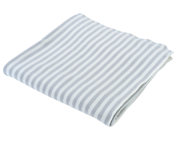 Swaddle Blanket - Grey Stripe