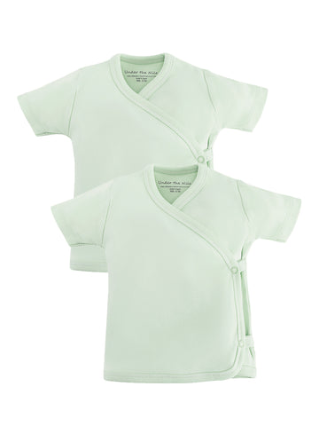 Lap Shoulder Shirt and Knee Patch Pant Set - Twilight Planes