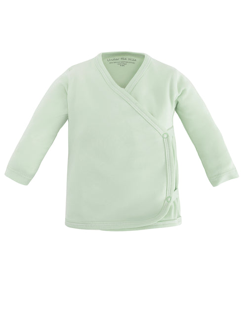 Long Sleeve Side Snap T-Shirt - Green Value Pack