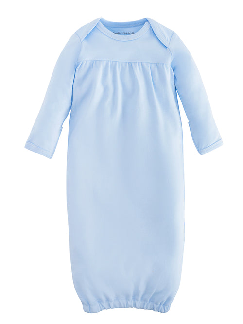 organic-cotton-baby-gown-onesie-pale-blue