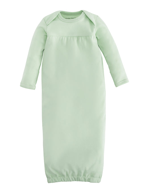 Baby Gown - Green, Size 0-3m