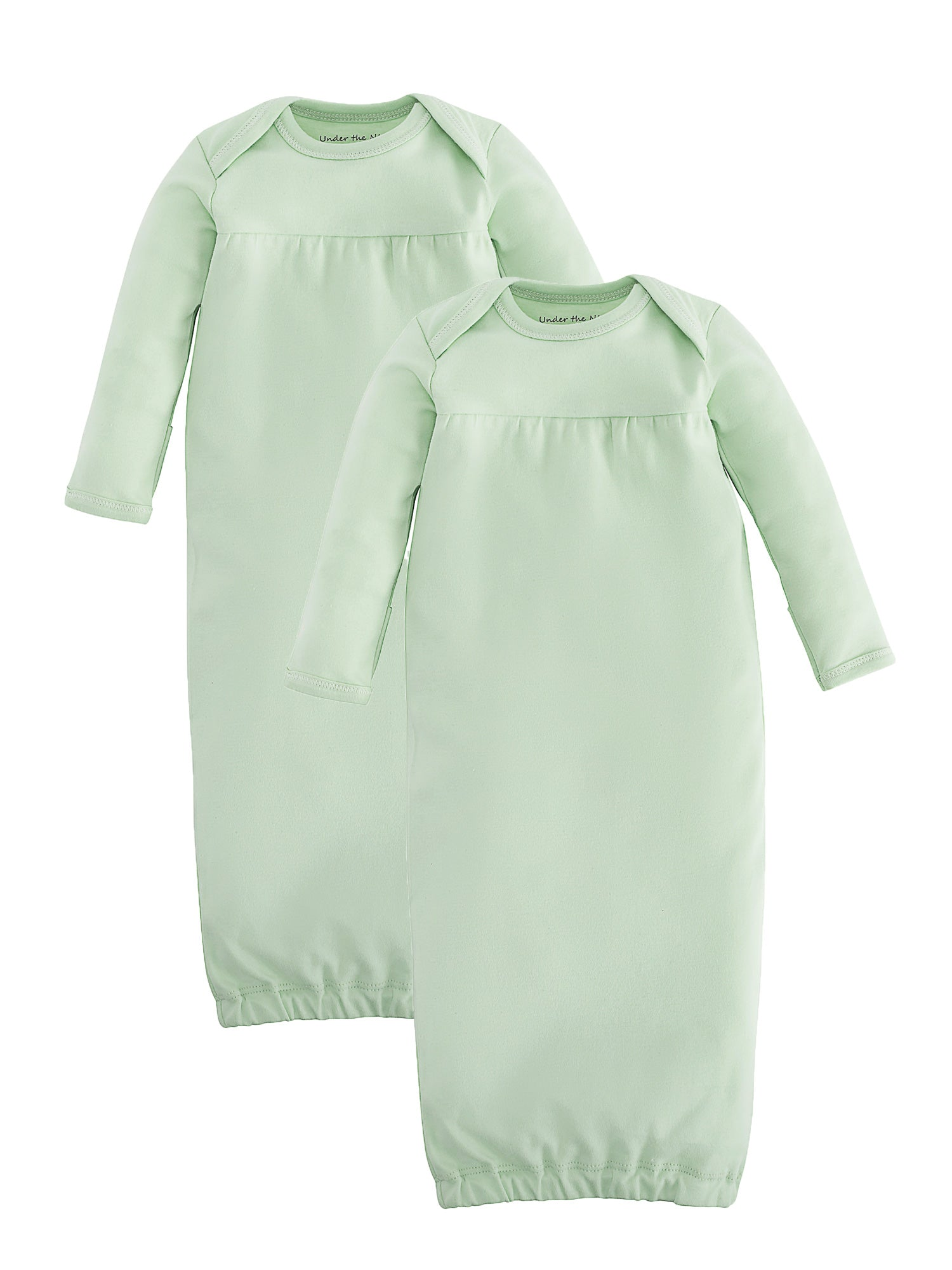 bdeaf1db1 Organic Cotton Unisex Green Baby Gown Basics Value Pack Size 0-3m ...