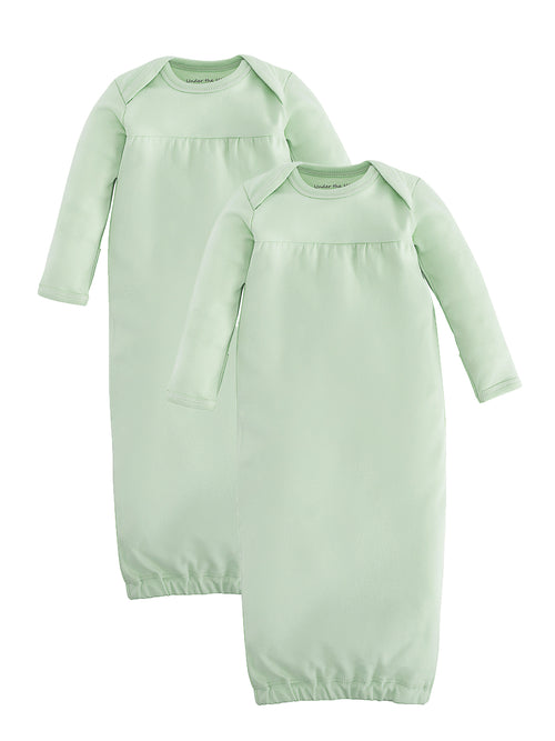 Baby Gown - Green Value Pack