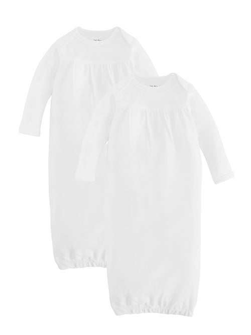 Baby Gown - White Value Pack