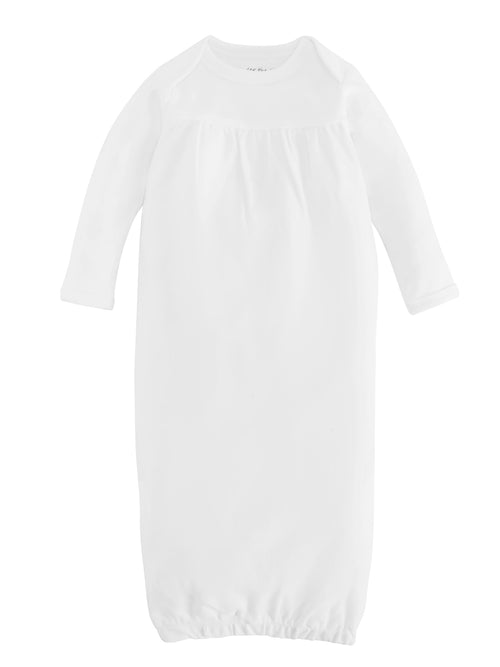 organic-cotton-baby-gown-onesie-white