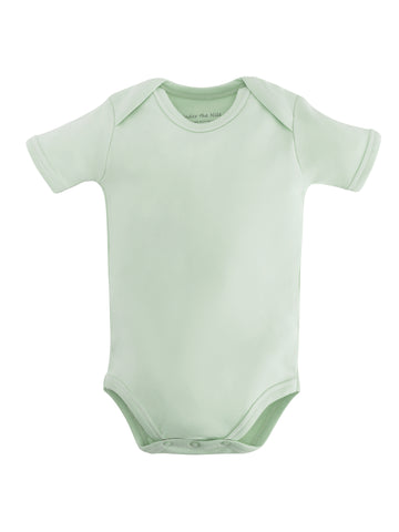 Short Sleeve Bodysuit - Green Value Pack