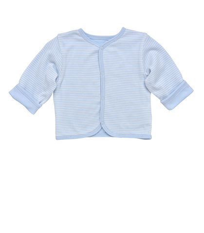 Long Sleeve Side Snap T-Shirt - Pale Blue