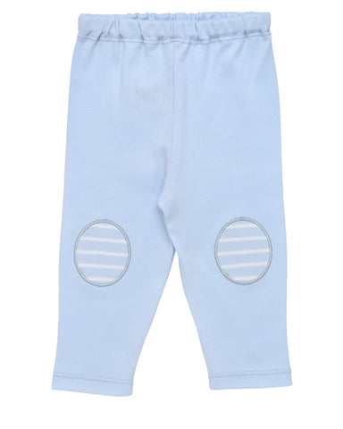 Pull On Pant - Pale Blue Stripe