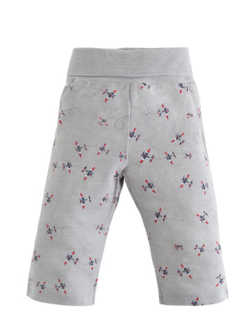 Kids Long Johns - Navy Prism Print