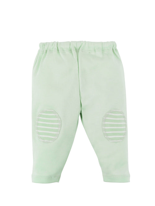 Pull On Pant - Sage Stripe